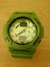 Casio G Shock GA-150A Reloj Mega Raro Verde