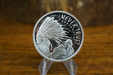 2014 Never Trust Government Proof Heidi Wastweet 1 Troy Oz .999 Fine Silver