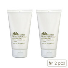 2 PCS Origins Checks and Balances Frothy Face Wash 150ml x2= 300ml NEW#1416_2