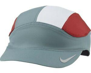 Nike Dri-Fit Tailwind Fast Adjustable Running 5-Panel Hat Cap DC3633 387 Adult