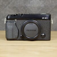 Fujifilm X Series X-E1 16.3MP Black Body