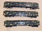 N Scale Gauge Lima Wagon Coach Gondola Camo Miltitary Army War Rolling Stock