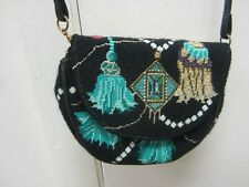 Needlepoint Canvas Evening Clutch/CrossBody Finished