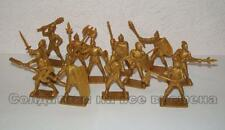 Hing Fat DGN Plastic toy soldiers 1/32 Renaissance Medieval Knights set. 12pcs