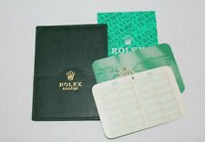 card holder & calendar dated 2004/2005 You get one Rolex Green leather warranty