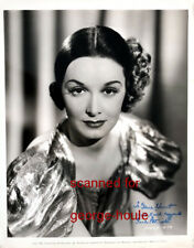 GAIL PATRICK - PHOTOGRAPH - SIGNED - PARAMOUNT- STAGE DOOR  - PERRY MASON
