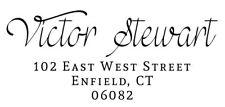 Designer Trodat 4913 Custom Return Address Self Inking Rubber Stamp - Ideal 100