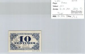Ticket France - Lille Nord - 10 C - Series 31.10.1917 - Pirot 59.1632