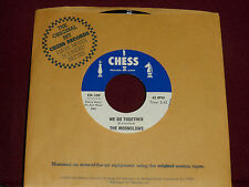 """THE MOONGLOWS """"We Go Together"""" Chess CH-109"""