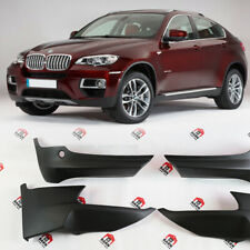 BMW X6 E71 2008-2014 front and rear bumper flaps skirts elerons M Sport side lid