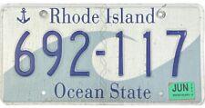 *99 CENT SALE*  2014 Rhode Island Wave License Plate #692-117 No Reserve