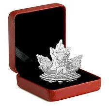 2016 Canada $10 dollars coin Geese MAPLE LEAF SILHOUETTE 1/2 oz. 9999 silver