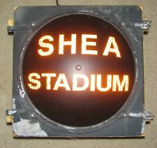 "12"" SHEA STADIUM Novelty Incandescent Traffic Signal Light"