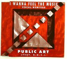 Maxi CD - Public Art - I Wanna Feel The Music (Vocal Remixes) - A4339