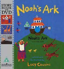 Noah's Ark by Lucy Cousins Book and DVD  NEW FREE P&P