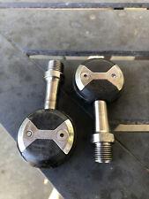 Speedplay X1 Titanium Spindle Pedals, X2, Zero, Vintage, Made In USA, Look, Sidi