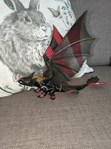 Rare How To Train Your Dragon Toothless Racing Stripes Night Fury Figure 2014