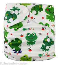 New Reusable Modern Cloth Nappy (MCN) + FREE insert – Monkey Party
