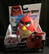 "Red Angry Birds Anger Management Talking Red 5"" figure Spin Master Rovio"