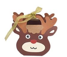 Christmas Reindeer Tote Bag Metal Cutting Dies Stencils for DIY Scrapbooking