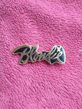 Vintage Blondie Concert Pin/Badge