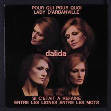 DALIDA: Pour Qui Pour Quoi 45 (France, PC) Vocalists