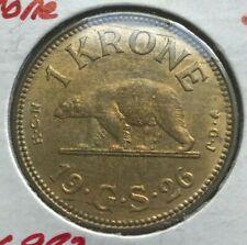 1926 Greenland 1 One Krone - Beautiful Uncirculated