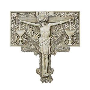 Crucifixion Indoor Outdoor Garden Plaque