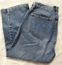 Lauren Jeans Co. Ralph Lauren Womans Jean Capris Size 10 Blue 100% Cotton