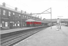 PHOTO  GUIDE BRIDGE RAILWAY STATION FAST LINES 1