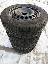 Mercedes B Class W246 195/65 R15 Winter Tyres Continental Steel Rims 0 5/16-0