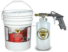 WOOLWAX™ Auto Thick Lanolin Undercoating. 5 gal with PRO GUN. BLACK color