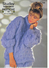 Studley Designer Collection Pastiche 80 KNITTING PATTERN sweater 1528