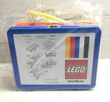 LEGO Tin Lunchbox With Original Lego Brick Patent Sketch 5006017 Exclusive Promo
