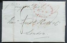 NSW Pre stamp ship letter Sydney Ju 4 1850 to London 15 Oc 1850