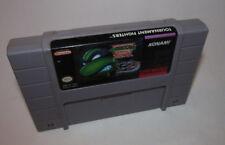 TMNT Teenage Mutant Ninja Turtles: Tournament Fighters Super Nintendo SNES Game