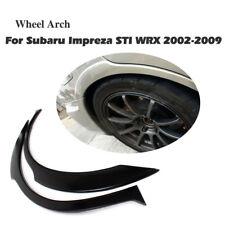 Car Rear Wide Wheel Arch Fender Flare Lips Fit for Subaru Impreza WRX STI 02-09