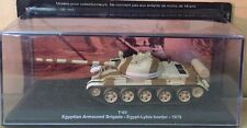 DIE CAST TANK  T-62 EGYPTIAN ARMOURED BRIGADE EGYPT - 1979  1/72