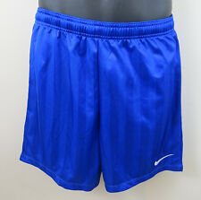 Nike Football Shorts Blue Running Sports Gym Mens Size S Small