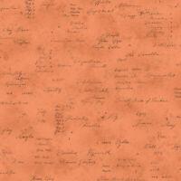 Lecien memoire a paris Quilting Cotton orange 82081940  fabric