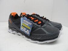 FILA Men's Romeo 2 Energized Athletic Walking Shoe Gray/Orange/White 11.5M