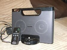 Sony RDP-M7iPN mains or portable Docking Station,Remote  Free p&p