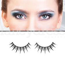 BACI Black Glamour Eyelashes Fancy Dress Formal New Years False Lashes 558