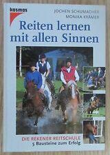 Reiten lernen mit allen Sinnen * Schumacher Krämer Franckh-Kosmos 1999 Pferde