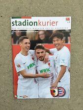 Programm FC Augsburg - FC Bayern München 14.02.16 FCB Programmheft