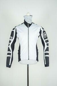 Mens Assos iJ.Bonka.6 Cento Cycling White/Black Racing Longsleeve Jacket Size XL