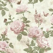 Tapete Vintage Rose Pink Natur Romantik Schlafzimmer Wandtapete Papiertapete