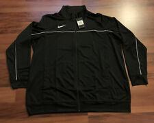 NEW Nike Men's Rivalry Full Zip Warm-Up Jacket Black XX-Large XXL 2XL AT5300-012