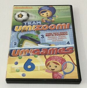 TEAM UMIZOOMI: UMIGAMES DVD Nickelodeon US Import R1 NTSC
