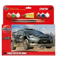 Car Model Kit Airfix Ford Fiesta WRC Large Starter Set